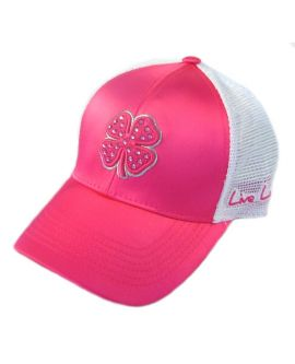 Live Lucky Hot Pink Bling Hat 6c45703697e1