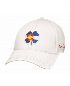 Live Lucky White Colorado Hat 1c9c708bf109